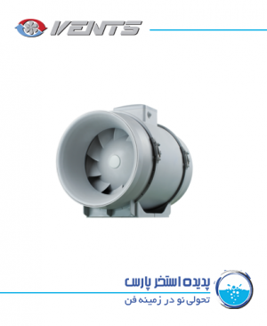 Inline mixed flow fan VENTS TT